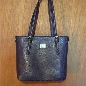 Handbags - Purse, Faux Leather, Navy